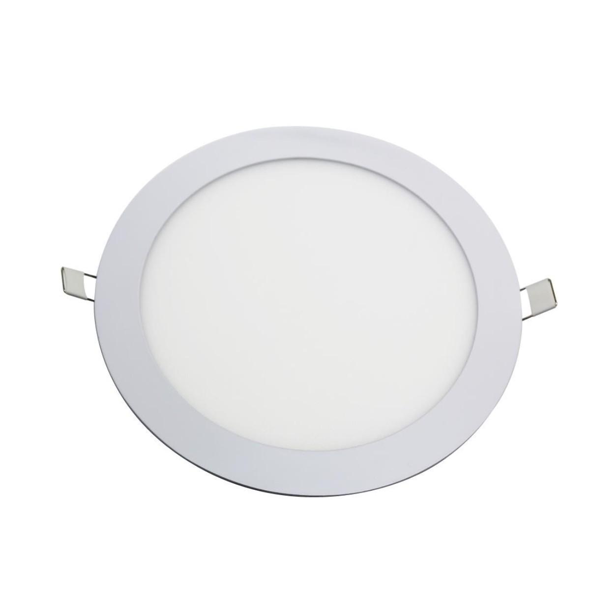 Painel LED Redondo 32w 3000k Embutir - Maxtel