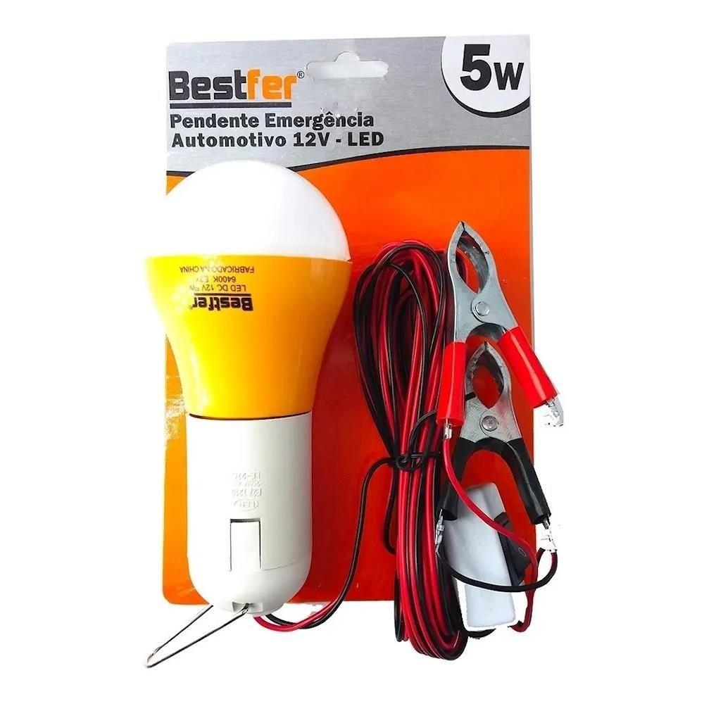 Pendente Automotivo Emergência LED 5W 12V Bestfer