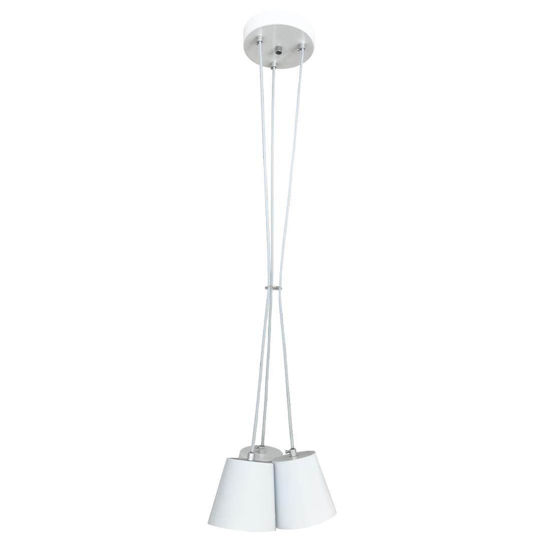 Pendente Vase 3 Lâmpadas Branco - Luz Vita
