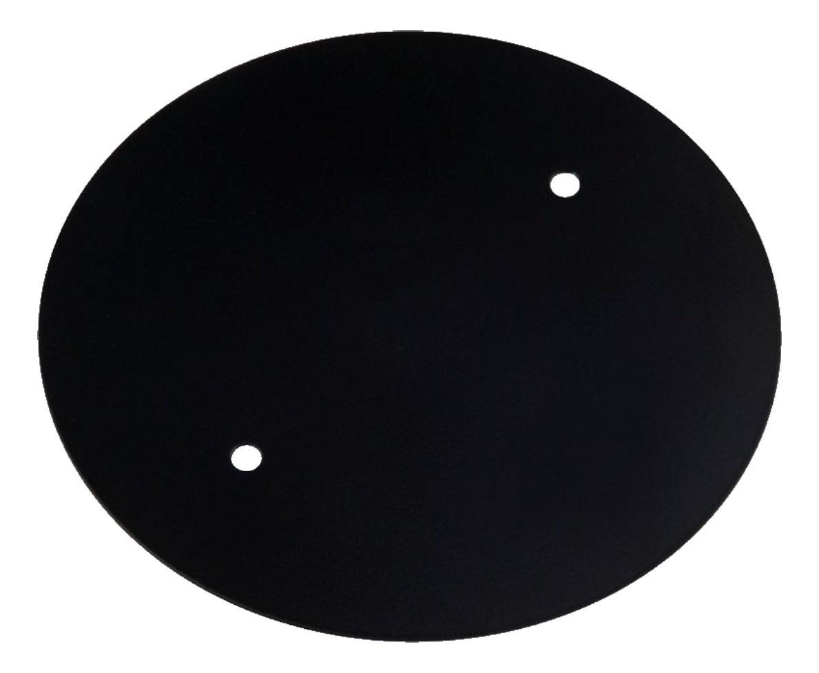 Placa Cega Redonda 4