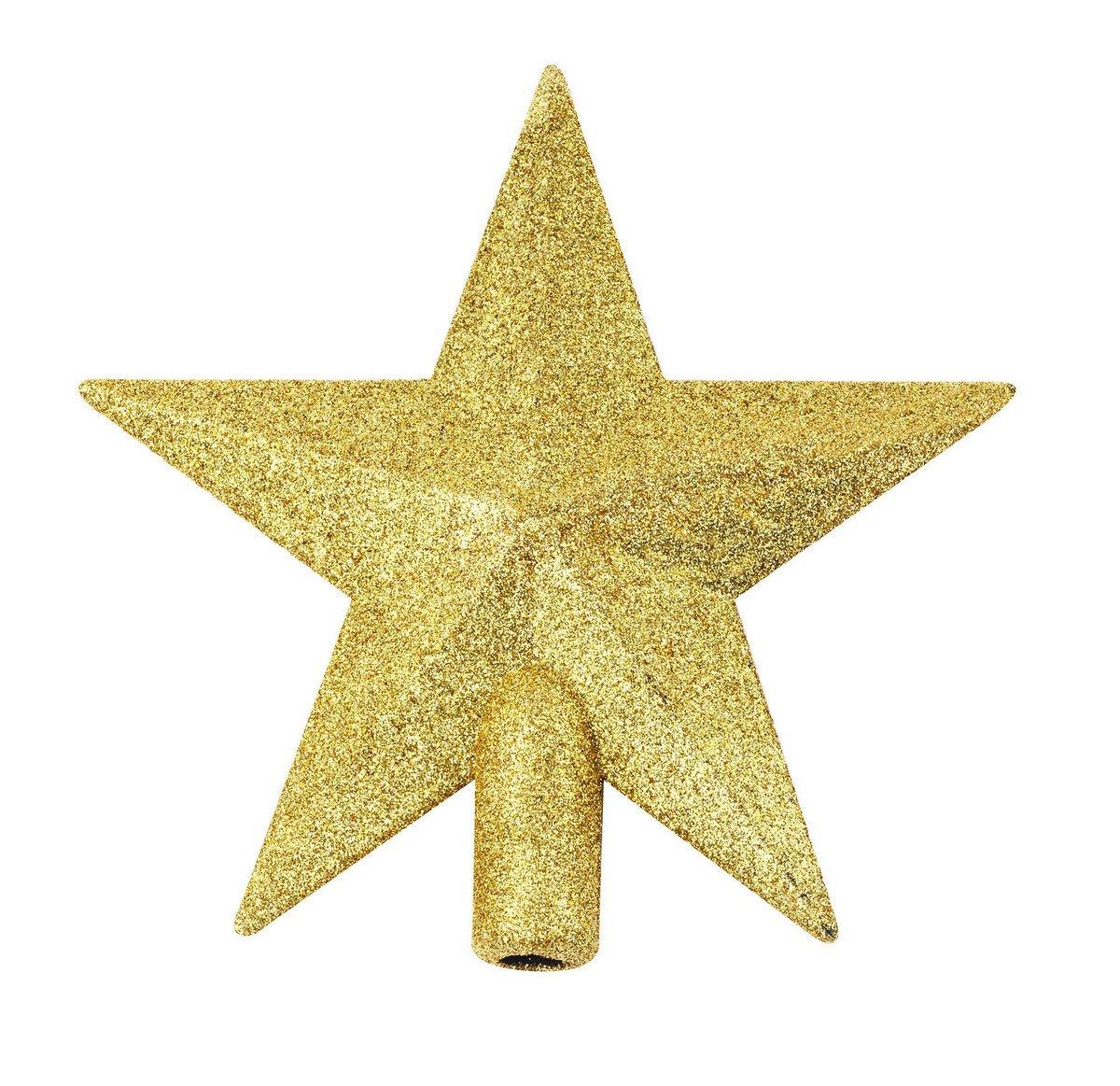 Ponteira Estrela 14x13cm Dourado