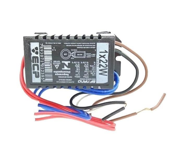 Reator Eletrônico 1x22w P/ Lâmpada Circular