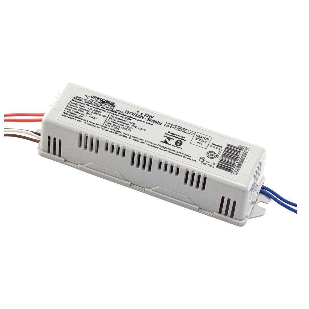 Reator Eletrônico 1x32w P/ Lâmpada Circular - ForceLine