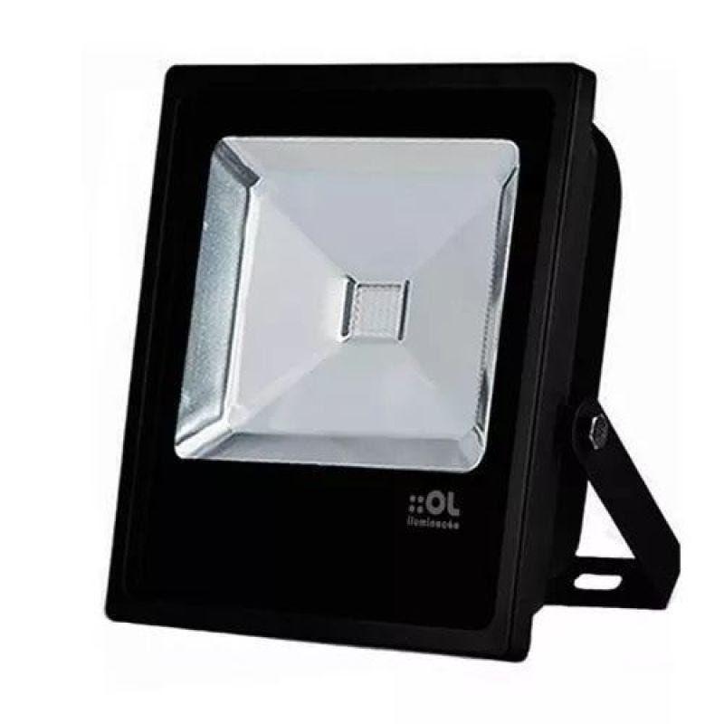 Refletor LED 10w 6500K - OL Iluminação