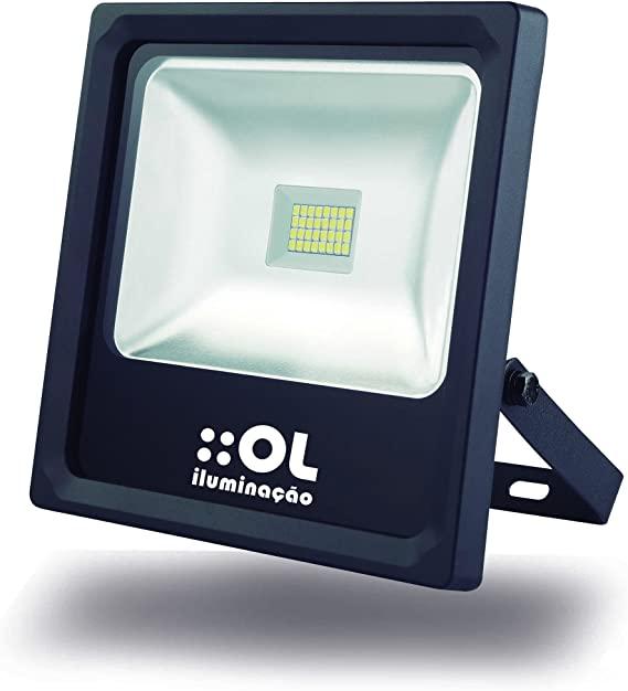 Refletor Led 50w 6500k Bivolt Ol Iluminação - R50A6A