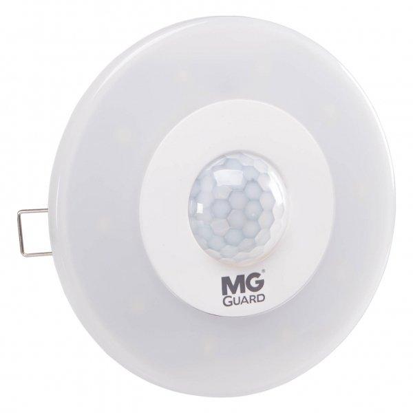 Sensor de Presença e Luminária de Embutir 5W Biv 6500K - Margirius