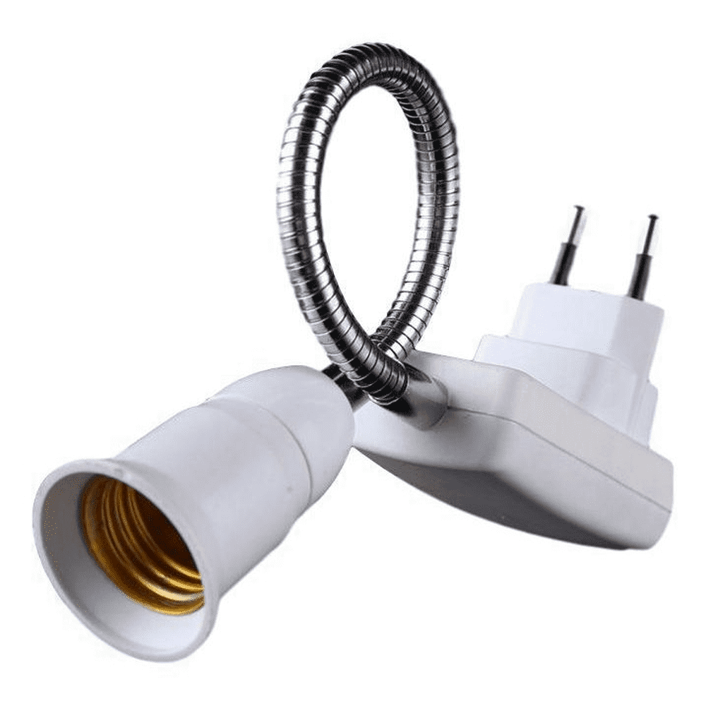 Soquete Flexível Para Lâmpada E27 Com Tomada - Bestfer