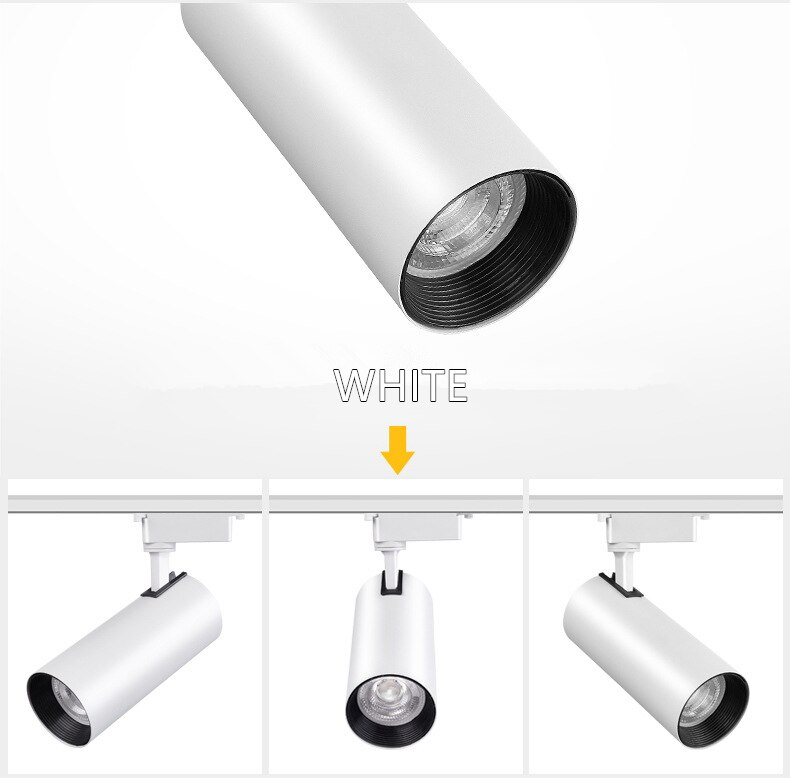 Spot para Trilho 20w 3000k Branco