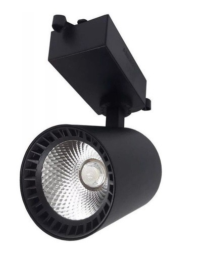 Spot para Trilho Super Led 20W 3000K PRETO - GOOD LIGHTING