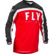 Camisa Fly Racing F16 Jersey Vermelho/Preto/Branco