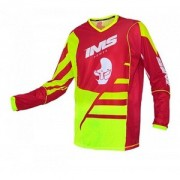Camisa IMS Power Vermelho/Verde Fluo