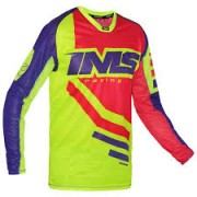 Camisa IMS Racing Sprint Azul/Vermelho/Verde Fluo