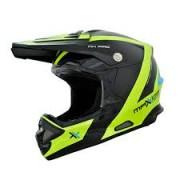 Capacete Mattos Racing MX Pro Fluor/Preto