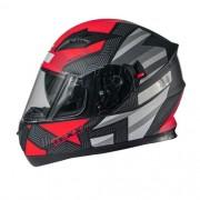 Capacete Moto Texx G2 Trento Vermelho Viseira Solar Inter