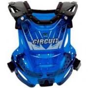 Colete Circuit Azul Transparente