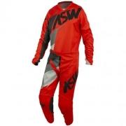 Conjunto Calça + Camisa ASW Image Force 2021 Vermelho