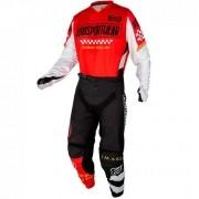 Conjunto Calça + Camisa ASW Image Knight 2021 Vermelho