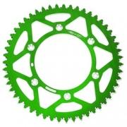 Coroa De Aluminio KX250F/450 KLX450 KX125/250 Oxxy 51D Verde