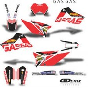Kit Gráfico 3m Motos Gas Gas Off-Road