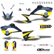 Kit Gráfico 3m Motos Husqvarna Off-Road