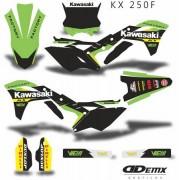 Kit Gráfico 3m Motos Kawasaki Off-Road