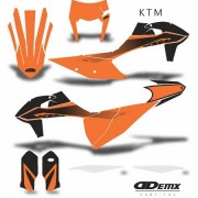 Kit Gráfico 3m Motos Ktm Off-Road