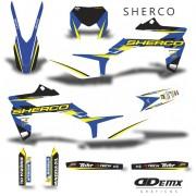 Kit Gráfico 3m Motos Sherco Off-Road