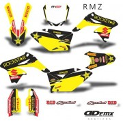 Kit Gráfico 3m Motos Suzuki Off-Road