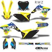 Kit Gráfico 3m Motos Suzuki Off-Road