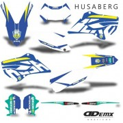Kit Gráfico Motos Husaberg Off-Road