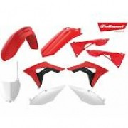 Kit Plástico Honda CRF450R - 17/20 CRF250R - 18/21  Polisport
