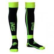Meião IMS Sprint Preto/Verde Fluo