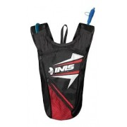 Mochila de Hidratação IMS Racing Citrino Preta/Vermelha
