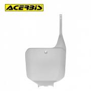 Number Plate Frontal Acerbis para Honda CR125/250 95/99 Branco