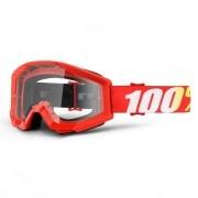 Óculos 100% Strata Jr Furnace Vermelho