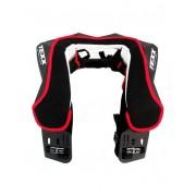 Protetor de Pescoço Texx Extreme Speed Neck Brace  Preto/Vermelho