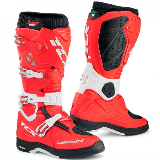 Bota TCX Comp Evo 2 Michelin Vermelha