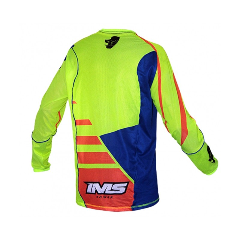 Camisa IMS Power Motocross Verde/Laranja/azul