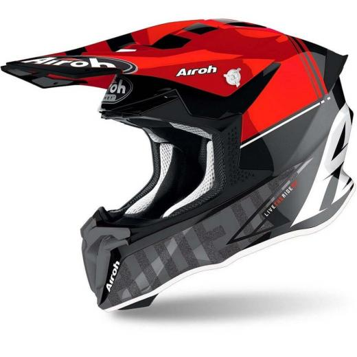 Capacete AIROH Twist 2.0 Tech Red Gloss