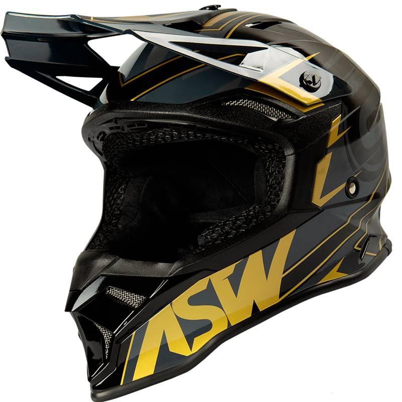 Capacete ASW Fusion 2.0 Dourado