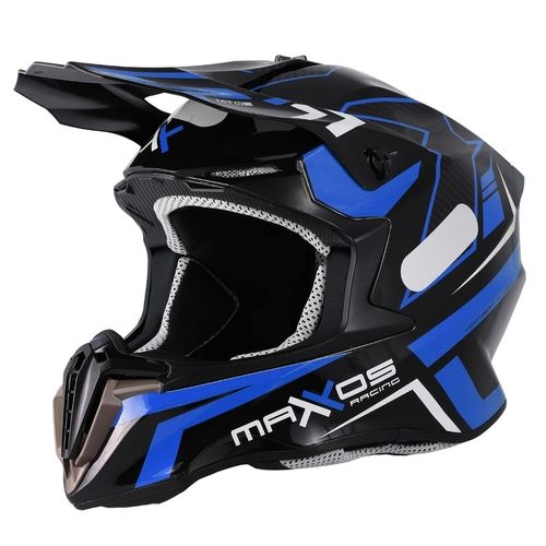 Capacete Mattos Racing Mx Combat MTR 2 Azul