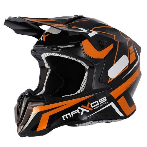 Capacete Mattos Racing Mx Combat MTR 2 Laranja