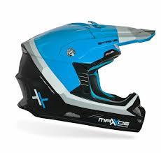 Capacete Mattos Racing MX Pro Azul