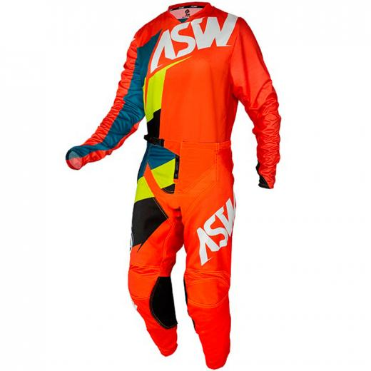 Conjunto Calça + Camisa ASW Image 2021 Force Laranja