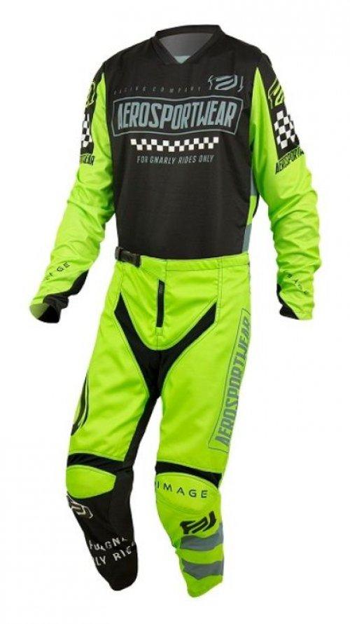 Conjunto Calça + Camisa ASW Image Knight 2021 Verde