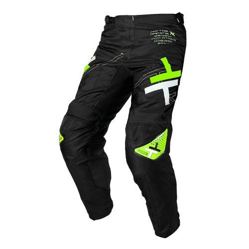 Conjunto  Camisa + Calça Mattos Racing Atomic Preta /Neon