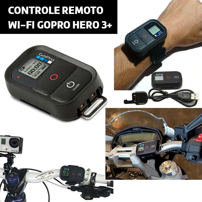 Controle Remoto Gopro® Original Hero 3/4/5
