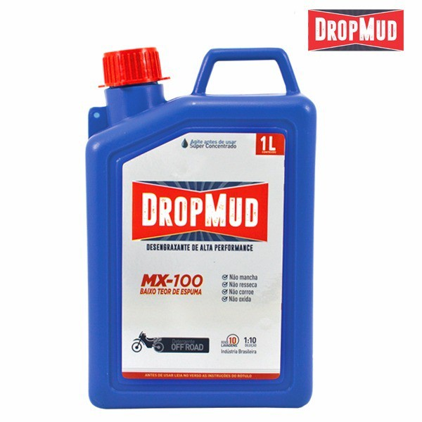 Drop Mud 1l Sabão Para Lavar Moto