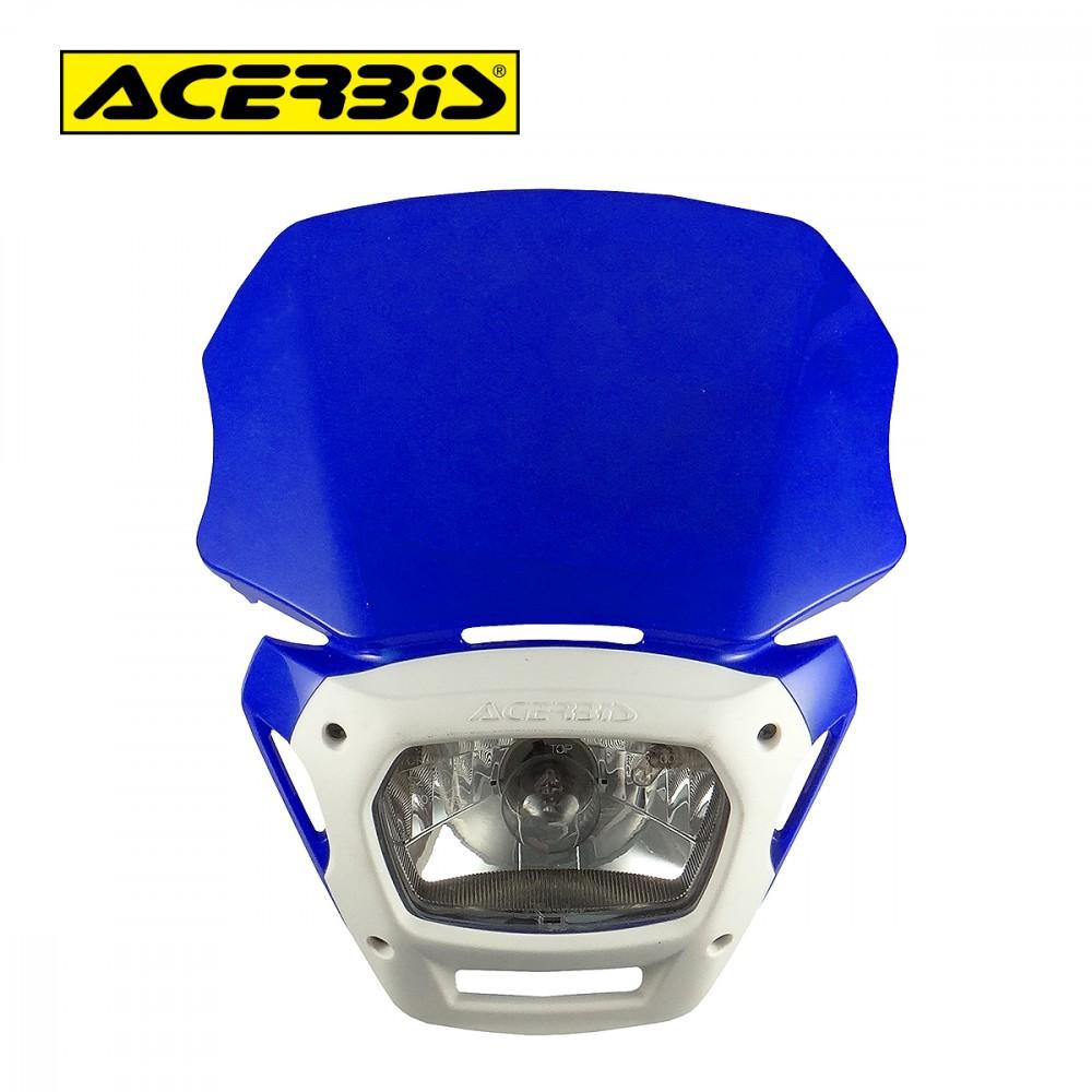Farol com Carenagem Mascherina Dimension Acerbis Azul/Branco