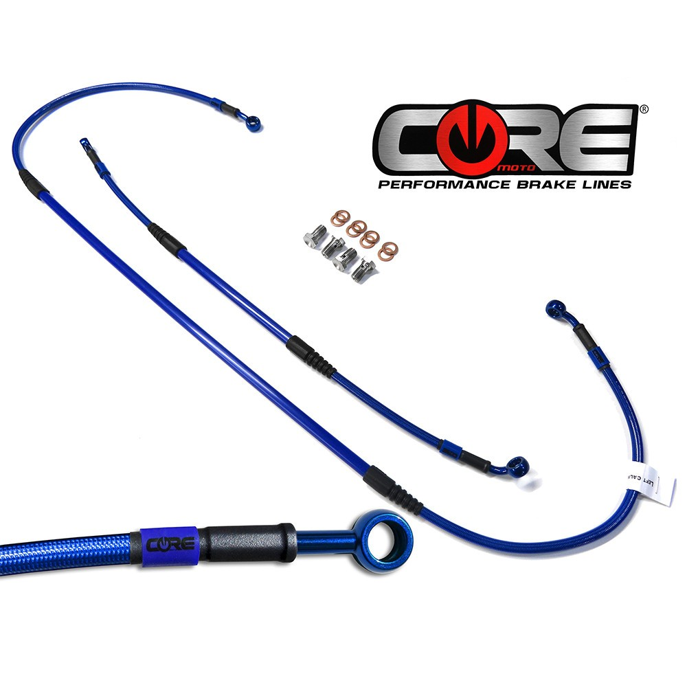 Flexível de Freio Dianteiro KTM   (00-14)  Azul -Core